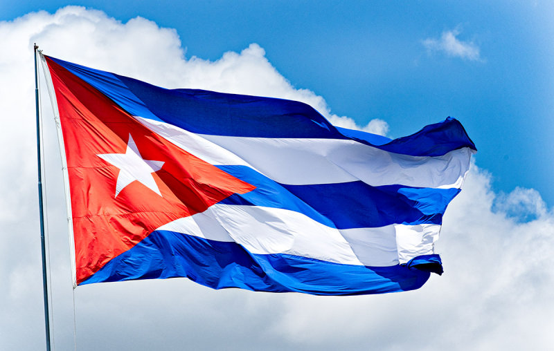 Cuban flag raised over Havana's embassy in Washington
