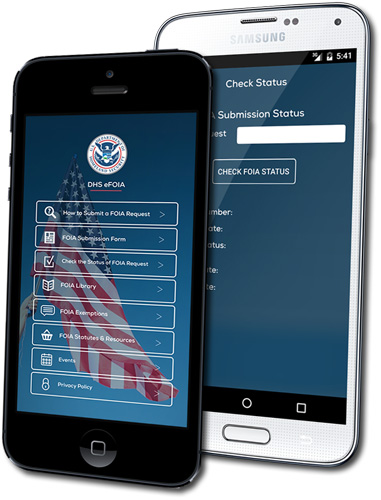 DHS Launches eFOIA App