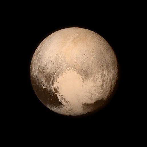Photo of Pluto Worth Sharing