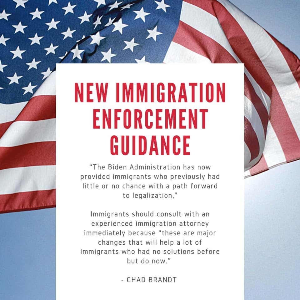 New Guidance Regarding Civil Immigration Enforcement and Removal Policies and Priorities